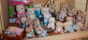 My Calico Critters collection as of Feb 4, 2012