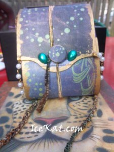Undersea Box Purse