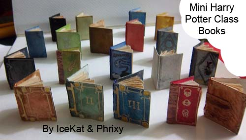 Harry Potter mini Class Books