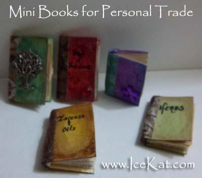 Mini Books for a Personal Trade