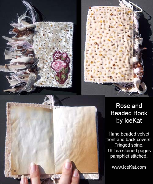 Handmade book by IceKat