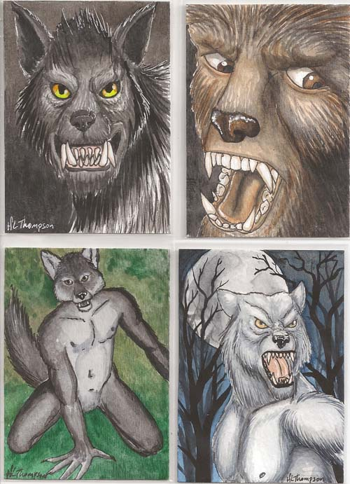 Werewolf Swap cards by IceKat