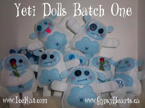 Yeti Dolls