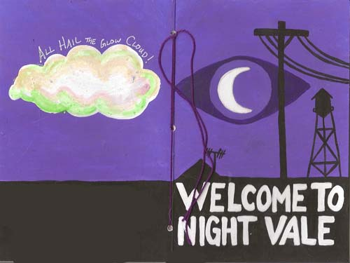 Night Vale Deco Cover by IceKat