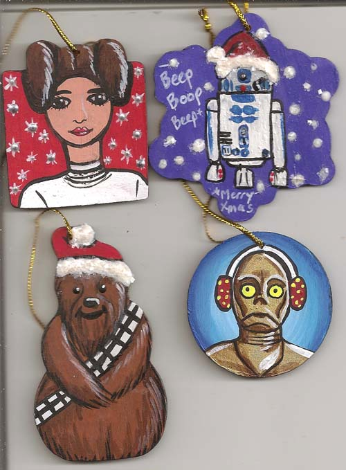 Star Wars Ornaments by IceKat