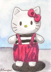 Hello Kitty doll by IceKat