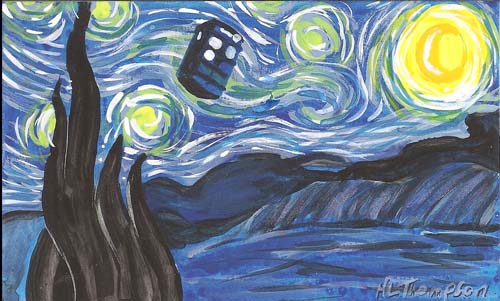 Starry Night for Whovian Deco