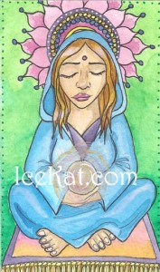 Meditation card for Ang by IceKat