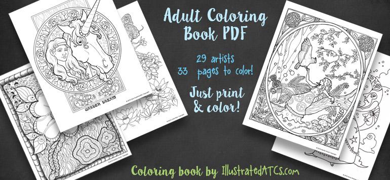 iATCs Colouring Book