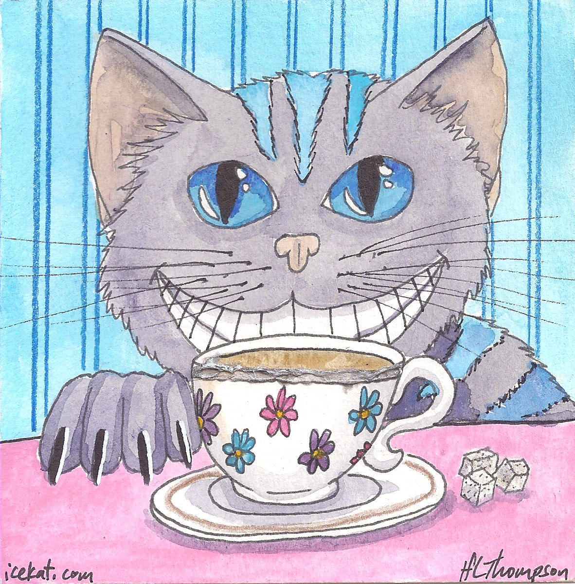 Cheshire with tea and sugar