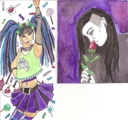 Harajuku and Candy and Goth decos for TFBalding