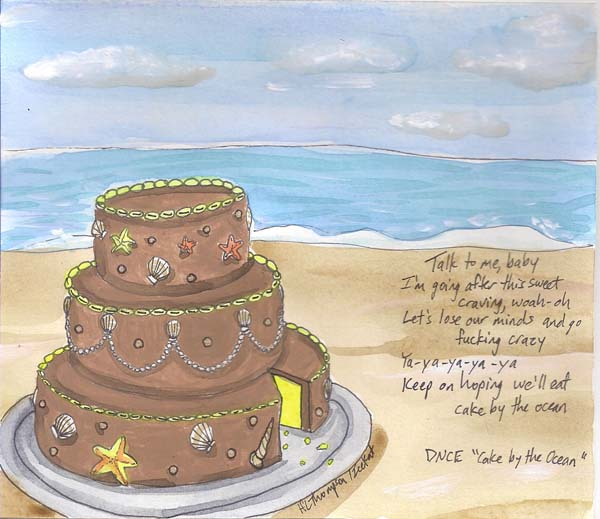 Cake by the Ocean by IceKat