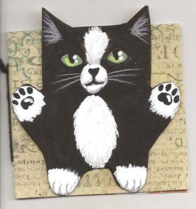 Chubby Cats deco book cover by IceKat.