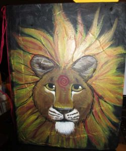 lion journal cover by IceKat