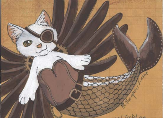 steampunk mercat deco page by icekat