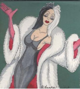 Sexy Cruella deco page