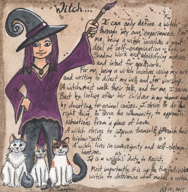#octBOSchallenge What is a Witch?