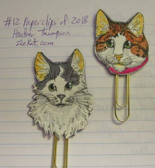 March 2018 paperclips